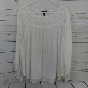 Alyx lacey sheer blouse size 3X